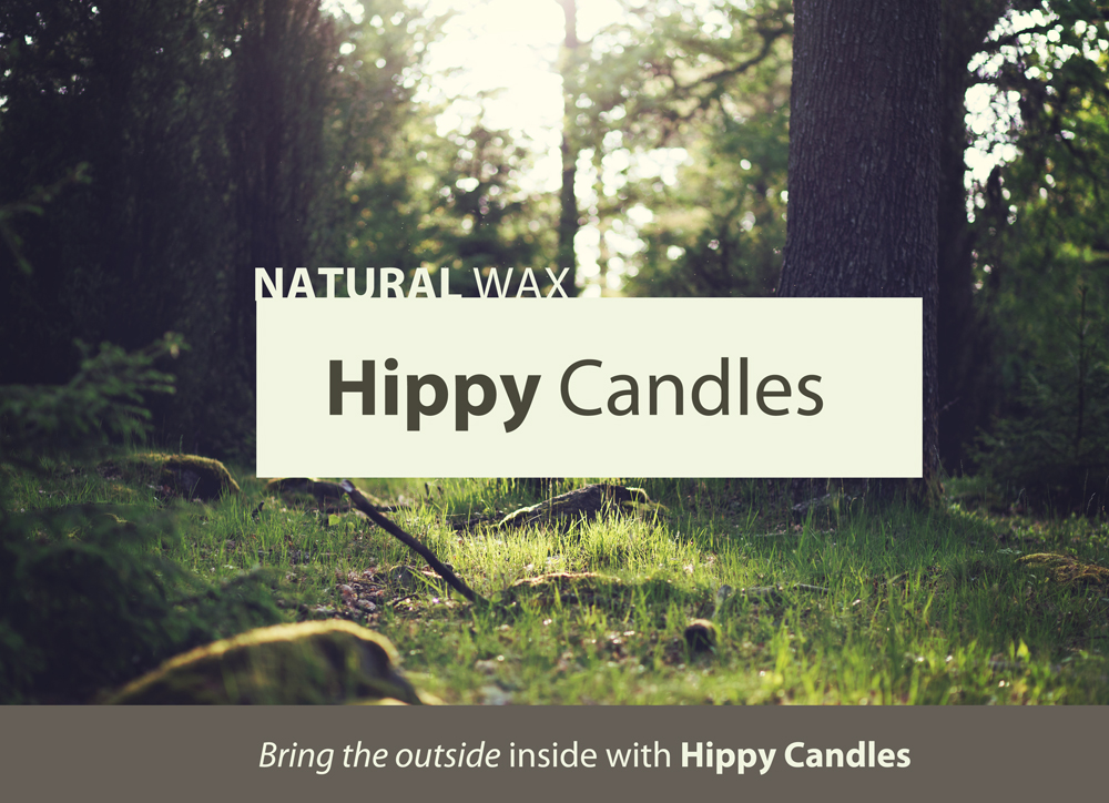 HIPPY CANDLE BANNER