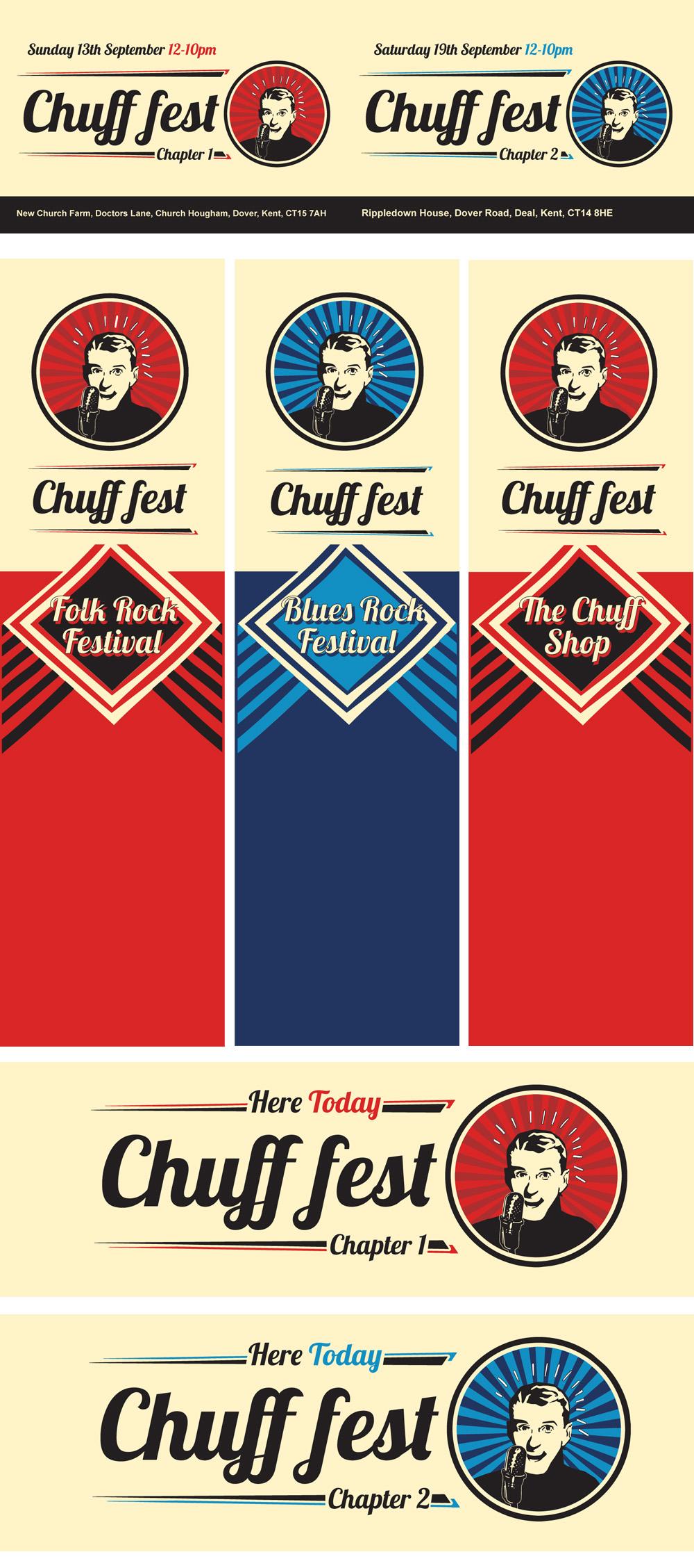 chuff fest-banners